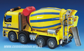 Mercedes Benz Cement Mixer Toy