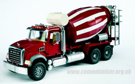 Bruder Mack Cement Mixer