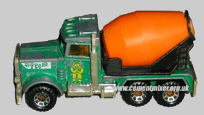 Matchbox Peterbilt Cement Mixer