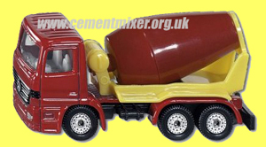 Siku Mercedes Cement Mixer